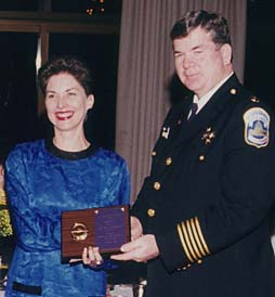 Jill receives award